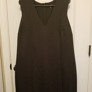 Lane Bryant Sleeveless Black Dress size 16